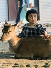 Bambi (J.Salmoral) Tags: vacation portrait japan retrato  nippon nara portret japon giappone nihon jap   ciervo retrat portrt portrtt  arckp canonef24105f4lisusm cervol cierve