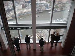 Viewing London from The Shard (Liz Allen) Tags: london tall theshard