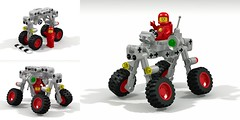 TF Rover (David Roberts 01341) Tags: classic lego space railway rover buggy folding