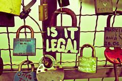 Is it? (thelandofulro) Tags: bridge color love colorful poland polska krakow most krakw cracow padlock padlocks kolor kadka candycolors kdka kdki kadkaojcabernatka
