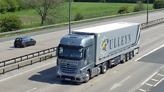 HX14 XOL Newport 03-05-14 (panmanstan) Tags: truck wagon mercedes yorkshire transport lorry commercial newport vehicle m62 actros a63