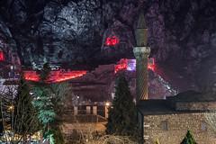 Night Landscape (Bernardo Ricci Armani PhotographingAround.Me) Tags: afsnikkor70200mmf28gedvrii amasya landscape minaret mosque mountain night nikon tombs turkey twist nikond800