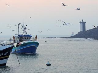 Le dur travail des pêcheurs force l'admiration... - ©PascaleJaouenArtPCj
