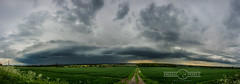 Storm Panorama (Rick Wilks) Tags: uk storm nikon pano cell lincolnshire thunder d4 supercell