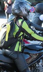 Motorcycle.... (42) (anjaschmidt1982) Tags: woman beautiful leather female eyes helmet chick motorbike gloves biker protection protector fullface