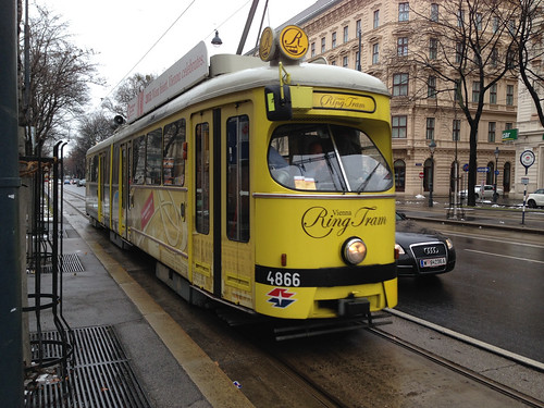 Vienna Ringtram - Jan 2015 - 1