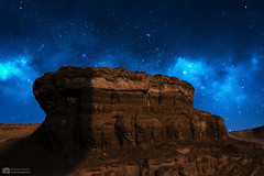 Milky Way From Earth (oussama_infinity) Tags: world camera sky nature night canon way photography algeria photo desert image earth infinity bleu ciel national photograph milky vue geographic algérie panoramique صور alger الصحراء صورة الجزائر dafrique 650d oussama mostaganem أسامة كانون bleuciel السماء d650 اسامة فوتوغرافي canon650d مستغانم canond650