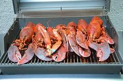 Lobsters On The Grill (Joe Shlabotnik) Tags: food grill lobsters 2014 afsdxvrzoomnikkor18105mmf3556ged june2014