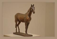 Mikhail R. Gabe (1917-1984) Horse, 1968, bronze (Sergei P. Zubkov) Tags: november sculpture horse art bronze stpetersburg kunst skulptur 2014 museum russian