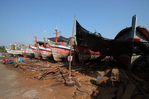 Shipyard at Rayong City