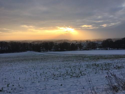 Sonne über Steinhagen