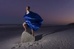 Nyx (Lucas Alexandros) Tags: portrait selfportrait beach night greek photography twilight sleep flash mythology myth nyx hypnos strobist