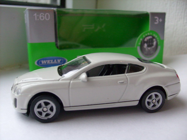 welly diecast bentleycontinentalsupersports