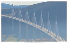 Viaduc de Millau (Dominique Rolland ) Tags: architecture nikon europe dominique rolland brume millau viaduc aveyron 2015 midipyrnes viaducdemillau eiffage d5100