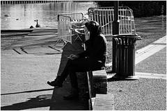 they never look up (N20) (japanese forms) Tags: bw blancoynegro monochrome blackwhite zwartwit random candid streetphotography vlaanderen mittelformat schwarzweis straatfotografie strasenfotografie japaneseforms2015