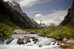 Cascade Canyon (Adam Roades) Tags: park mountains nature water river nps hike wyoming tetons