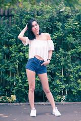 karina khay (petersaputra) Tags: pose indonesia model nikon foto f14 hunting 85mm nikkor ancol karina salah khay ecopark f14d acol karinakhay