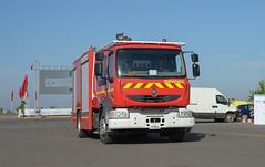 Renault Firefighting Truck (Boushh_TFA) Tags: show truck airport nikon air renault international morocco marrakech marrakesh firefighting nikkor rak f4 vr menara 2016 d600 24120mm gmmx gimaex