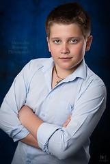 (MissSmile) Tags: blue portrait childhood studio child serious memories blues teenager ki misssmile