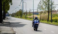 At Illegal Speed (bramtop_1990) Tags: blue speed blauw ninja hard motorbike r illegal motorcycle motor kawasaki zx supersport snelheid kawa snel widowmaker zx10r illegaal 10r