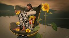 Skip~Sunflowers (Skip Staheli (Clientlist closed)) Tags: summer beach home fashion kunst sl secondlife sunflower nomatch skipstaheli oceanblackthorne jayteddermurs bakaboo
