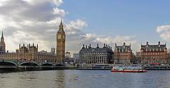 Houses of Parliament (Ellsasha) Tags: london housesofparliament bigben riverthames