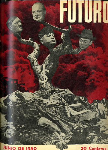 Portada de Josep Renau Berenguer para la Revista Futuro (junio de 1940)