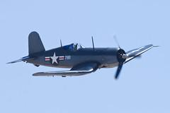 Planes of Fame Vought F4U-1 Corsair NX83782 (jbp274) Tags: vintage airport display airplanes airshow corsair restored warbird chino cno planesoffame f4u vought kcno