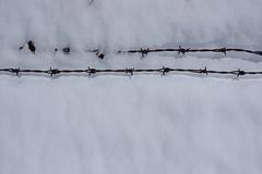 Nockberge (Harald Reichmann) Tags: schnee linie krnten parallel frhling stacheldraht disappear nockberge weidezaun arriach vorderernock