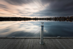 Electricity - Orrholmen (- David Olsson -) Tags: longexposure sunset lake seascape motion water lamp clouds landscape pier wooden movement nikon sundown post cloudy sweden outdoor jetty el karlstad le electricity april lampa fx grad vr d800 brygga vrmland 1635 2016 ndfilter blackglass 1635mm lakescape stolpe gnd smoothwater mariebergsviken orrholmen leefilters lenr bigstopper davidolsson 06hard 1635vr