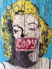 Copy Marilyn (The Art of YorkBerlin) Tags: york berlin art marilyn work painting artwork kunst popart copy malerei 2016 manroe neopopart acrylpunk