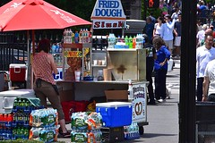 Snacks and Drinks (AntyDiluvian) Tags: park boston massachusetts slush drinks pretzels snacks common bostoncommon publicgarden colddrinks frieddough