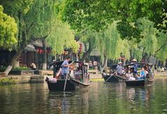 Xitang (D.H. Parks) Tags: china travel green tourism water boat canal shanghai xitang watertown nikon24120 nikond610