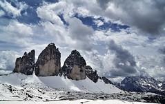 Der Lohn der Mhen (phozuppel) Tags: schnee mountains clouds landscape sony wolken berge alpen landschaft dolomiten dreizinnen sexten weltnaturerbe