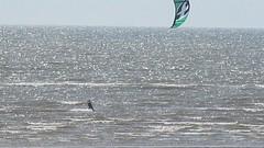 Riding on the wind (billnbenj) Tags: video kitesurfing cumbria barrow kitesurfer irishsea walneyisland earnsebay