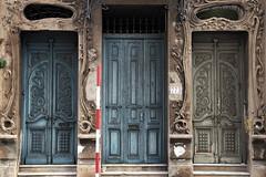 Vintage Entrance (funkallen) Tags: door old building vintage calle entrance asuncion paraguay palma