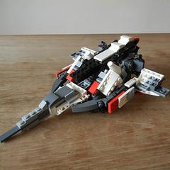DSCN6663 (alfa145q_lego) Tags: lego legocreator vehicletransporter 31033 alternate futureflyers 31034 mecha rebuild