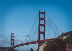 Golden Gate Bridge (Garden State Hiker) Tags: sanfrancisco california nature northerncalifornia outdoors goldengatebridge marincounty sanfranciscobay sausalito summeroutdoors