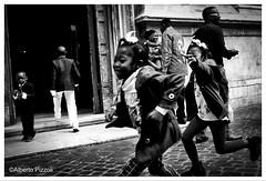 2016-05-01_080205000_9FEDD_iOS (alberto pizzoli) Tags: street city urban blackandwhite italy rome blakandwhite cityscape citylife streetphotography urbanexploration streetphoto urbanscene streetphotobn