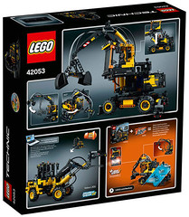 LEGO Technic 42053 back (hello_bricks) Tags: lego technic legotechnic 42054 42053 42055