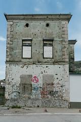 Shot dead (notforsnowboard) Tags: summer color fuji mostar bosnia balkan 2016 xe1 fujifilmxe1