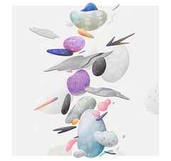 five elements ( -  zutto) Tags: stones ice wood water bubblegum zutto vector illustration
