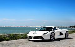 Clean. (Alex Penfold) Tags: venice italy white cars alex car super ferrari autos supercars penfold 2016 laferrari