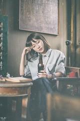 b8 (Nhp xinh trai siu cp !) Tags: vintage vietnam japan flim lo hc coffee coffe cafe deep art sad cute girl indoor retro eye actor bnh trang cookie beer book