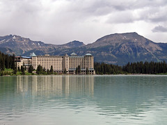 (Mitchell Lafrance) Tags: travel vacation mountain holiday canada interesting alberta banff rockymountains lakelouise 2008