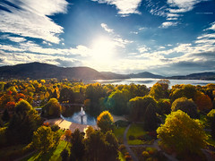 Phantom3 See und Agenturux 2015-10-17 (tine_stone) Tags: carinthia flugaufnahmen aerialview tinefoto europapark klagenfurt phantom3 krnten|carinthia austria