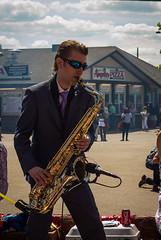 BobbySax (jmishefske) Tags: worlds v1 nikon summerfest largest 2016 mans dead band sax june wisconsin festival parade carnival june29 music milwaukee