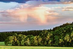 Weather June (MSPhotography-Art) Tags: summer sky cloud nature weather clouds germany landscape deutschland lights sonnenuntergang cloudy outdoor sommer natur feld himmel wolke wolken thunderstorm summertime lightning sonnig landschaft gewitter thunder wandern cloudscape wetter severeweather wanderung wolkig badenwrttemberg schwbischealb unwetter reutlingen bewlkt swabianalb schwbsichealb strumfront wiesenalb
