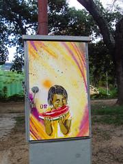 aum two (D11 Urbano) Tags: boy art girl poster stencil arte venezuela nios caracas urbano venezolano arteurbano d11 streetartvenezuela artvenezuela d11streetart arteurbanovenezuela d11art d11urbano