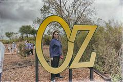 nathalie. wizard of oz festival. september 2015 (timp37) Tags: park sign festival illinois oz wizard nat september nathalie fest tinley 2015